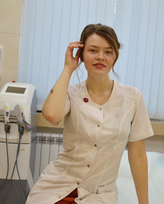 Косметолог Герасимова Антонина Александровна