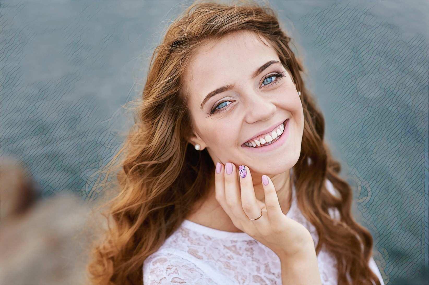 фото девушки после редермализации лица