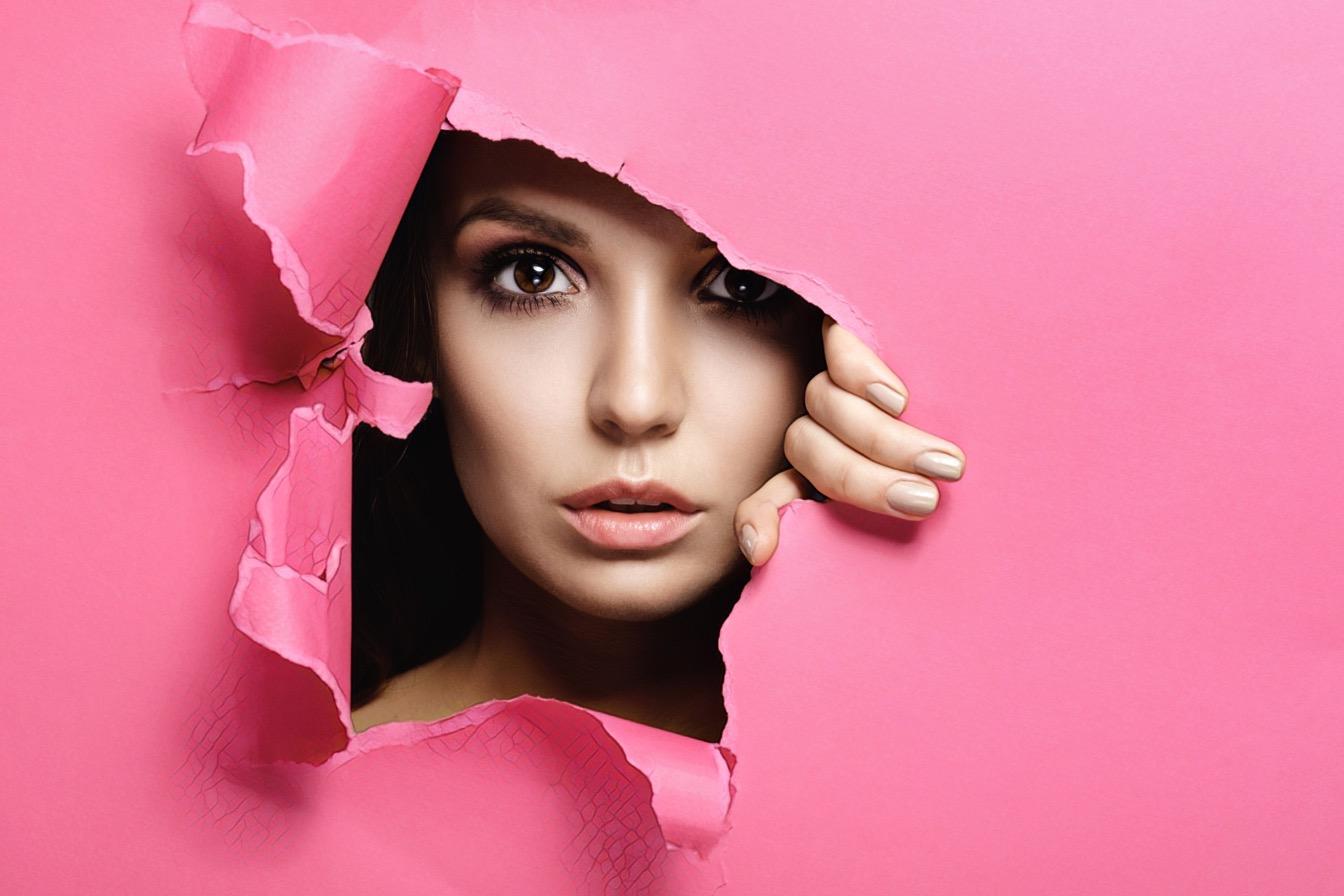 сквозь розовую бумагу